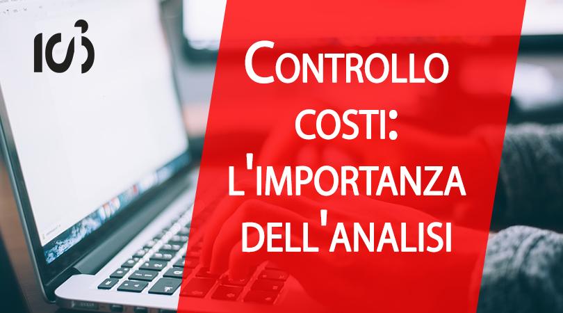 controllo dei costi, analisi dei costi aziendali